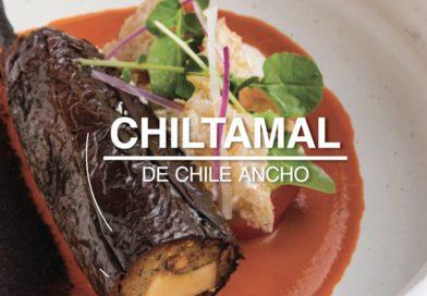 Chef Juan  Cabrera de Fonda Fina con la receta de Chiltamal de Chile Ancho