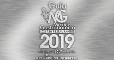 Galardonados de la Guía México Gastronómico Los 120 Restaurantes 2019